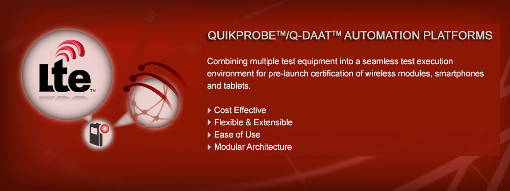 Quikprobe/QDAAT Automation Platforms